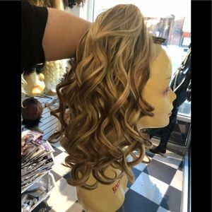 Accessories - Ponytail hair piece hair topper blonde mix jawclip